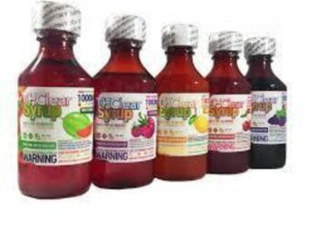 THClear Syrup 1000mg Grape