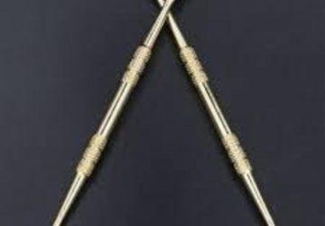 Dabbing Sticks (Gold Plated)